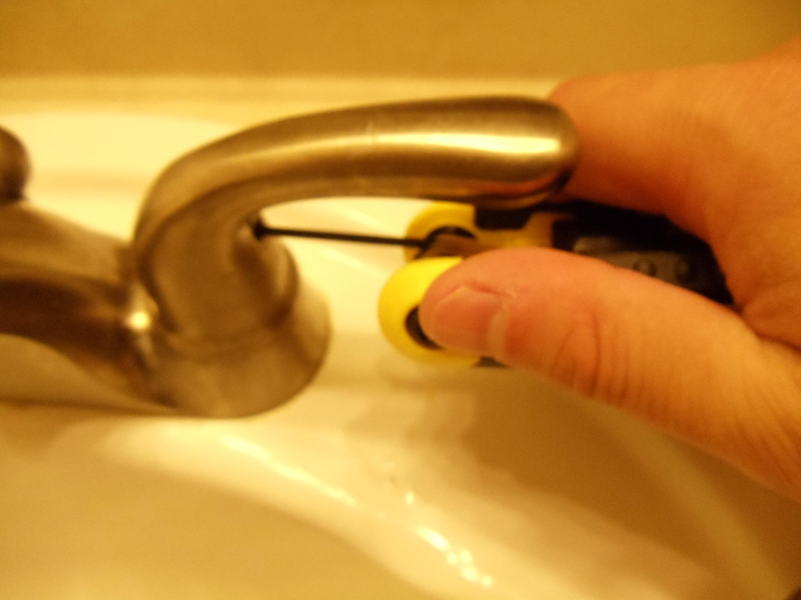 how to fix a leaking glacier bay bathroom sink faucet diy home