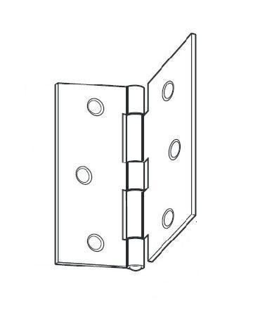 Flat Regular Bifold Door Hinge