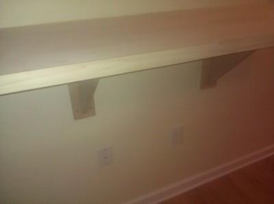 Wood bar top