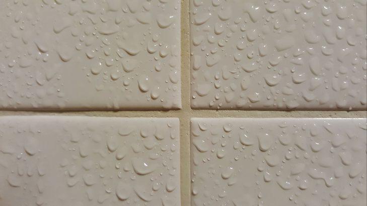 Grout on Bathroom Tiles