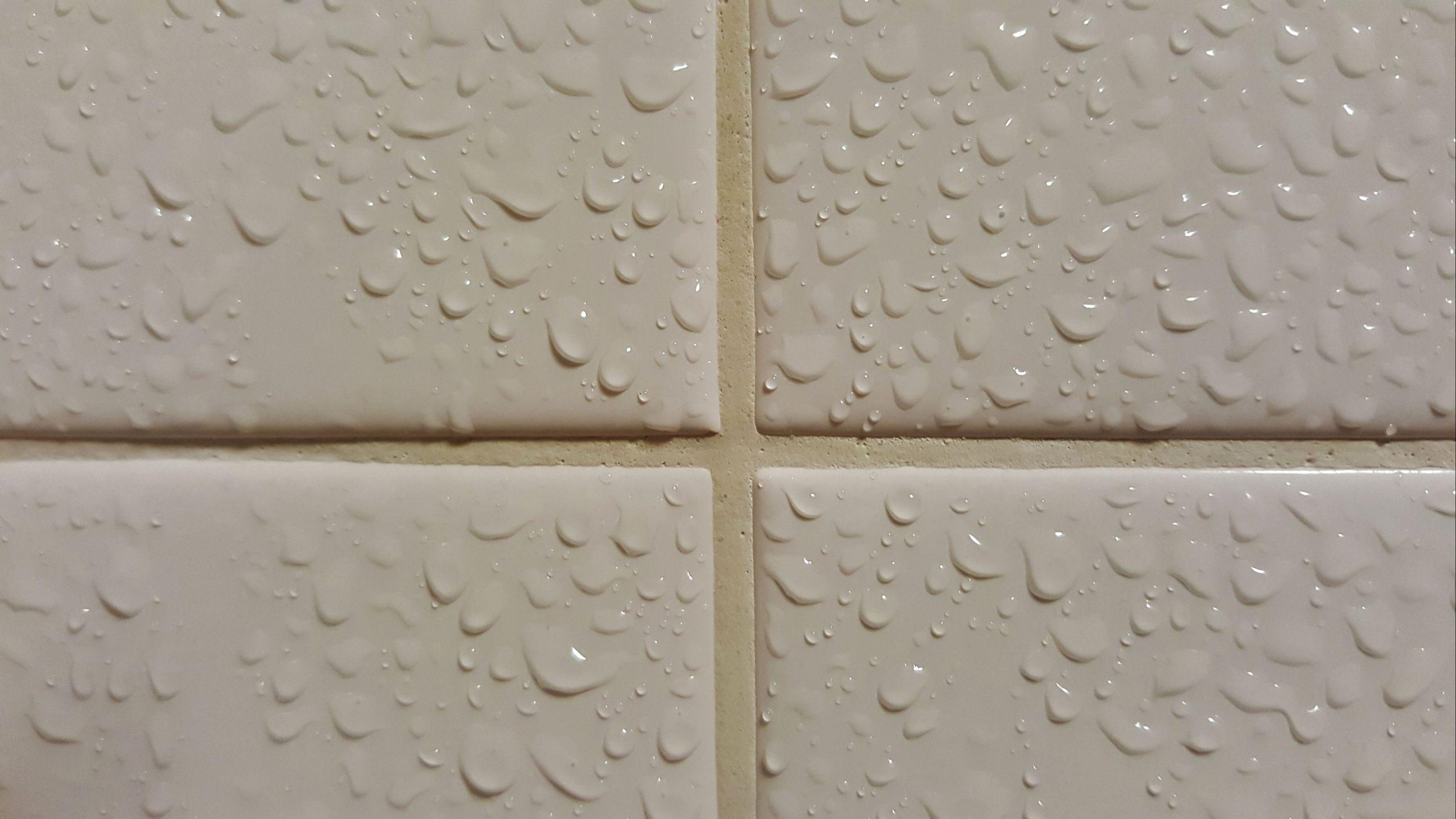 Grout on Bathroom Tiles
